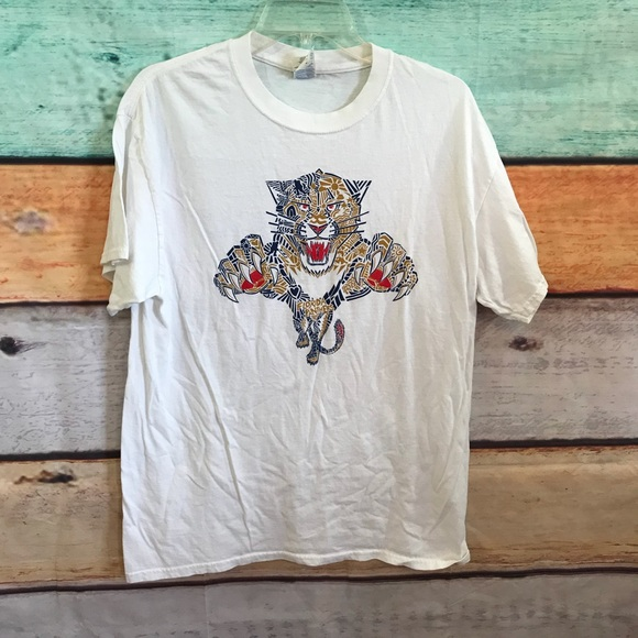 the best attitude 9b54b 9cb60 5 for $25 Florida Panthers Shirt, Size Large